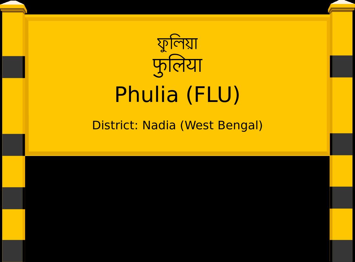 Phulia (FLU) Railway Station