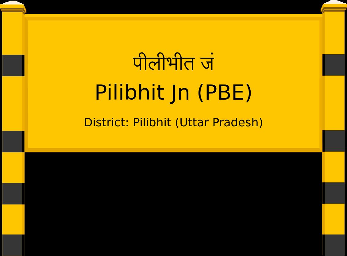 Pilibhit Jn (PBE) Railway Station