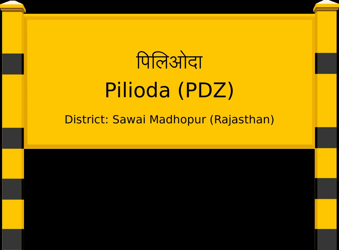 Pilioda (PDZ) Railway Station
