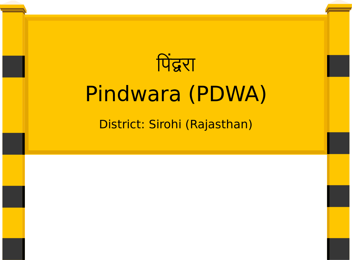 Pindwara (PDWA) Railway Station