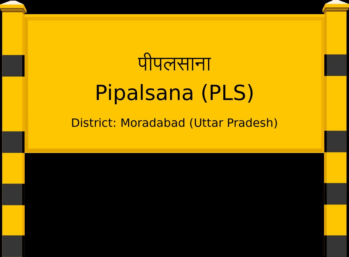 Pipalsana (PLS) Railway Station