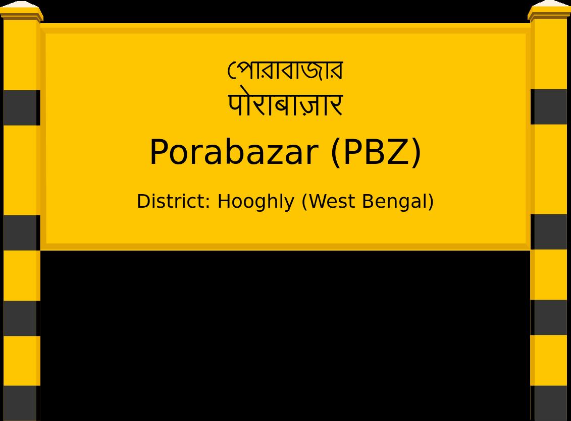Porabazar (PBZ) Railway Station