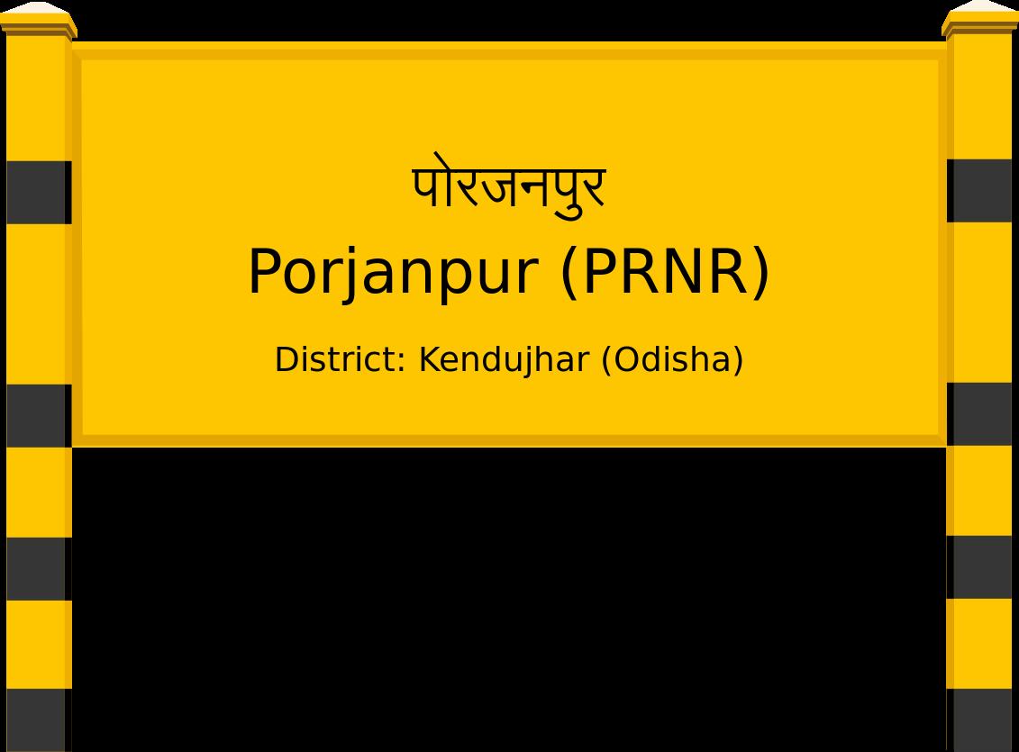 Porjanpur (PRNR) Railway Station