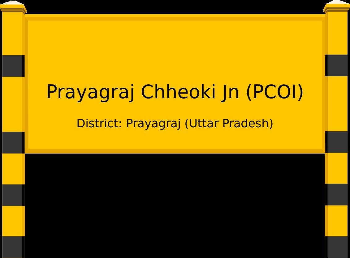 Prayagraj Chheoki Jn (PCOI) Railway Station