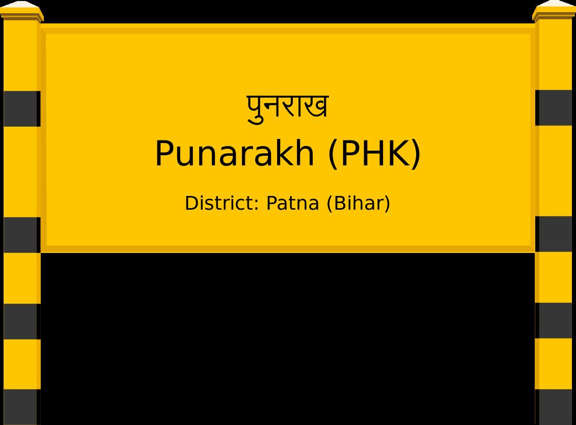 Punarakh (PHK) Railway Station