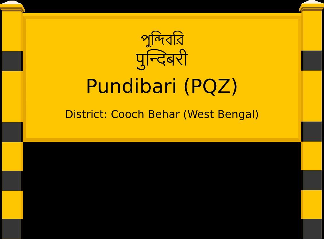 Pundibari (PQZ) Railway Station