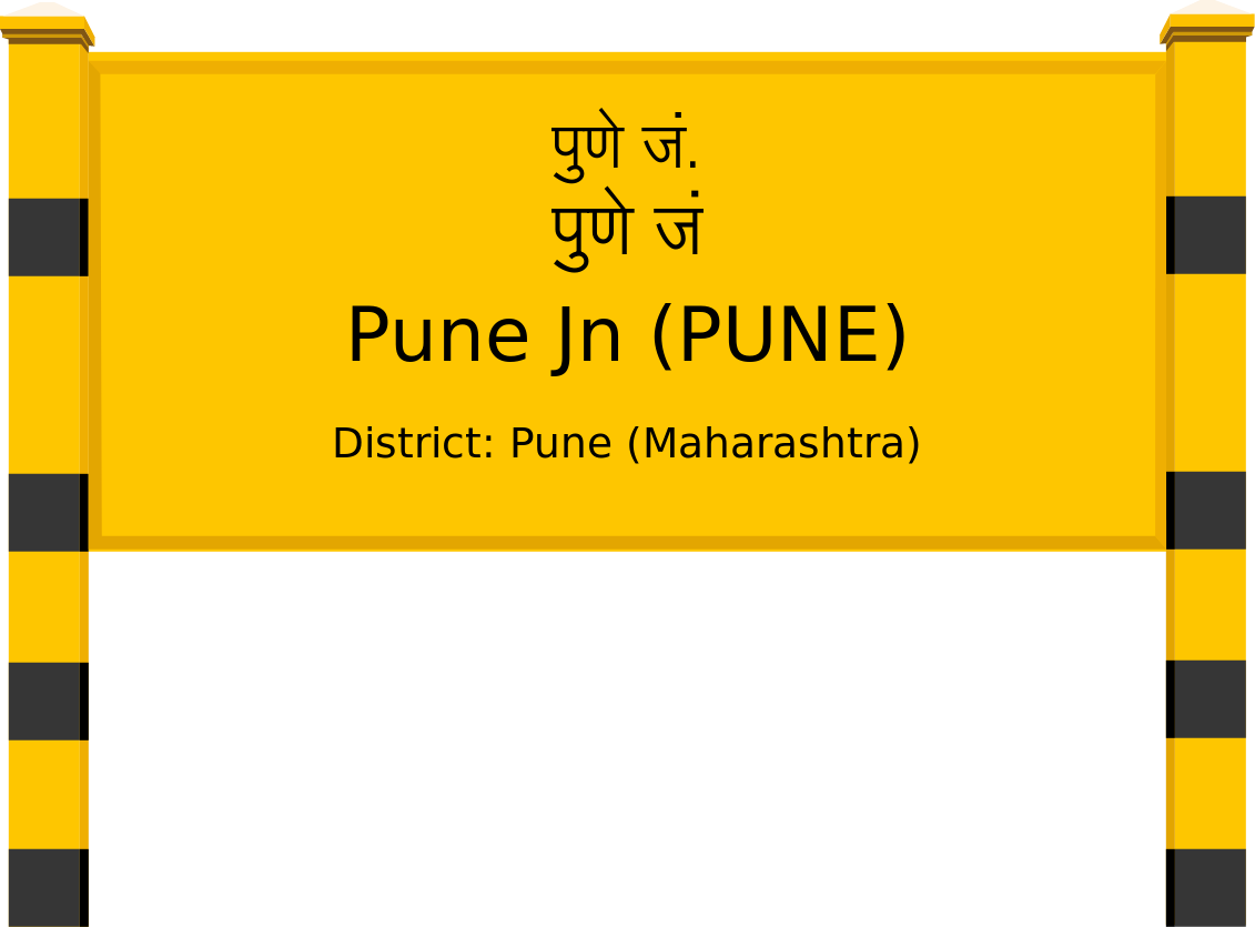 Pune Jn (PUNE) Railway Station