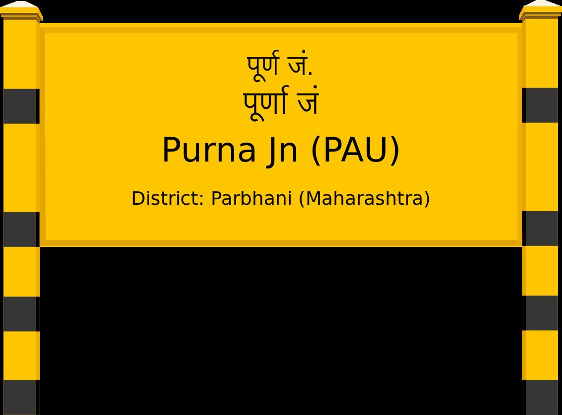 Purna Jn (PAU) Railway Station