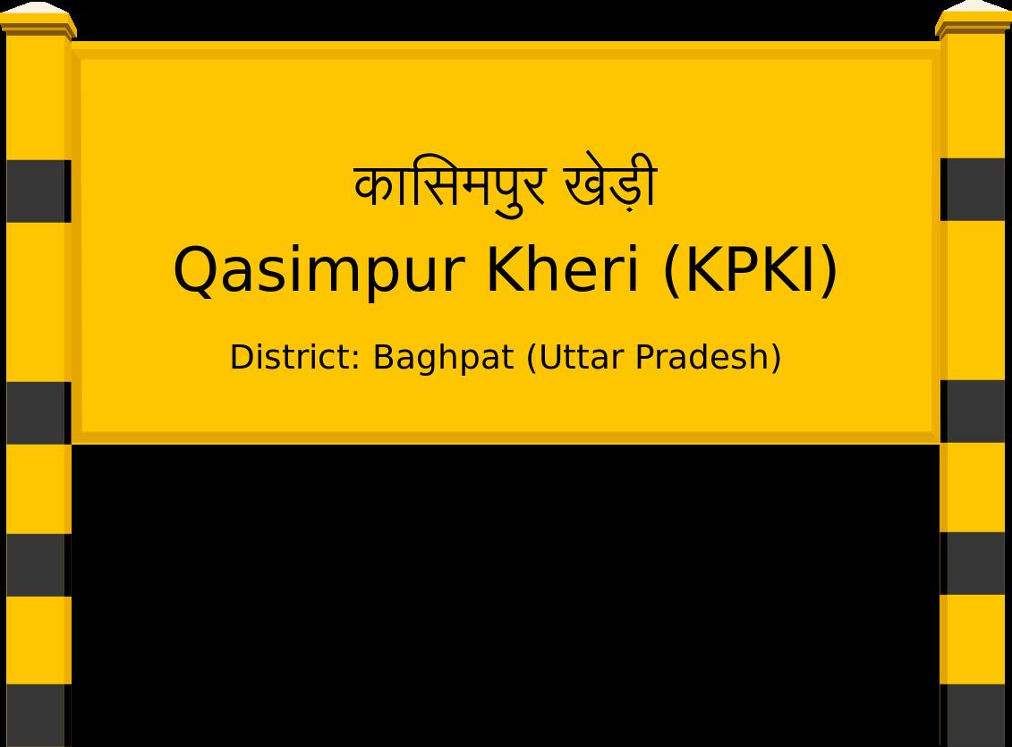 Qasimpur Kheri (KPKI) Railway Station