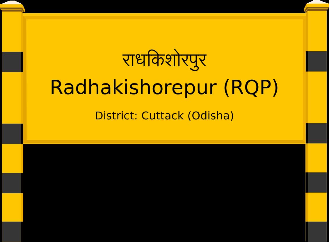 Radhakishorepur (RQP) Railway Station