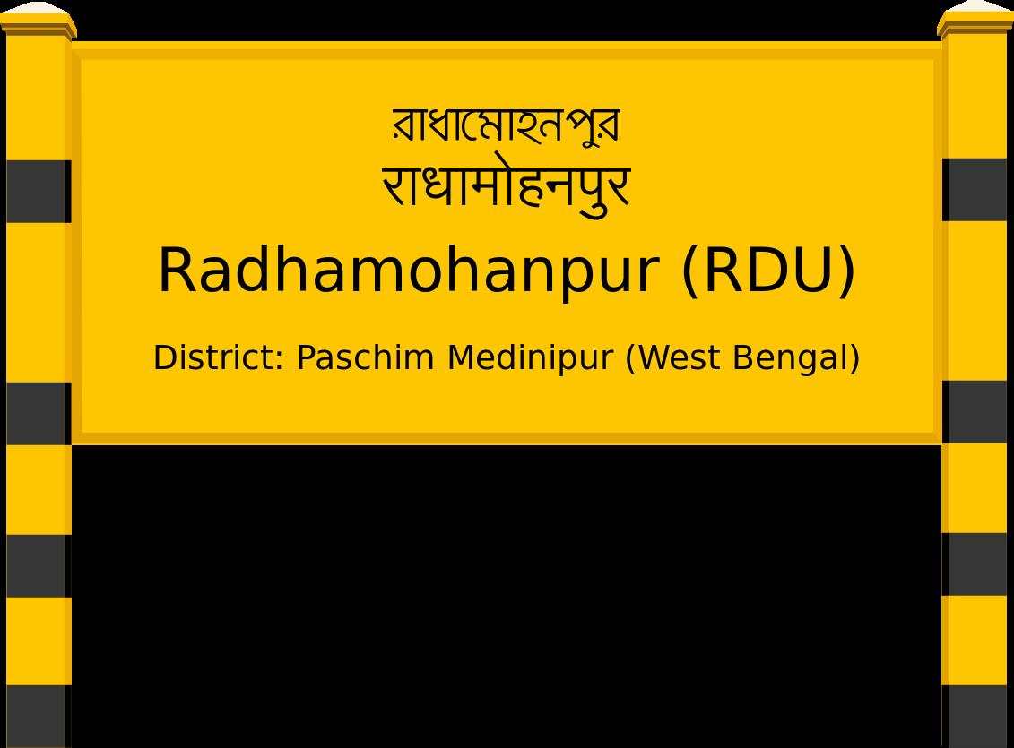 Radhamohanpur (RDU) Railway Station