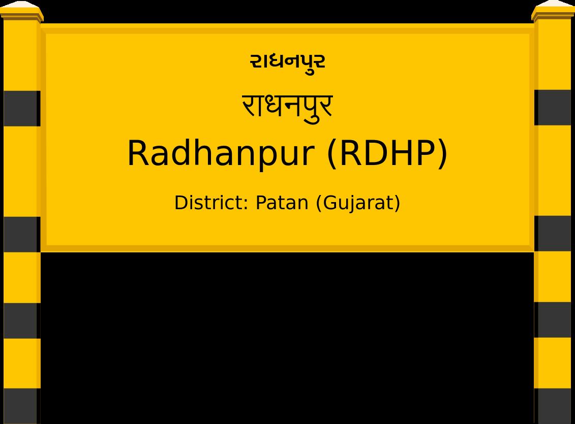 Radhanpur (RDHP) Railway Station