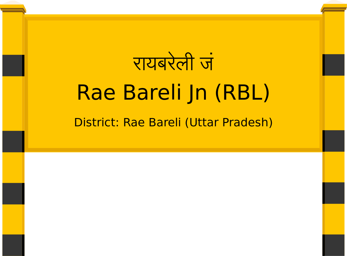Rae Bareli Jn (RBL) Railway Station