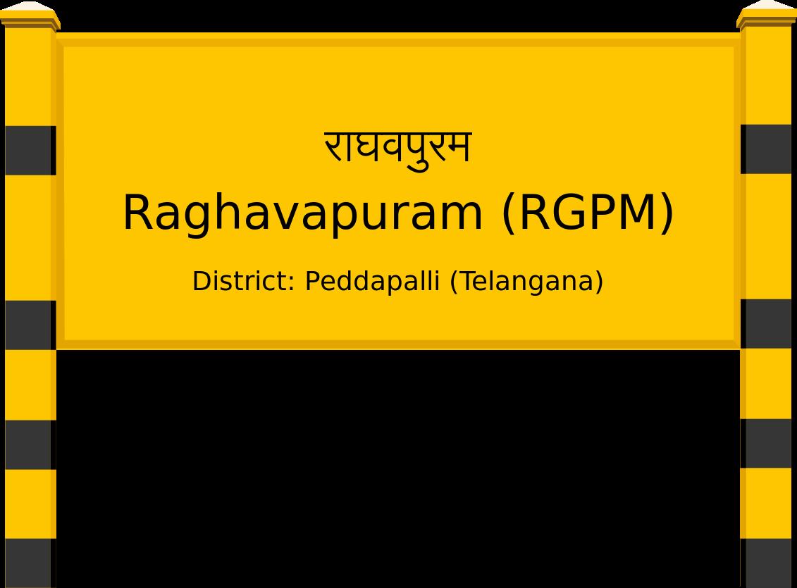 Raghavapuram (RGPM) Railway Station
