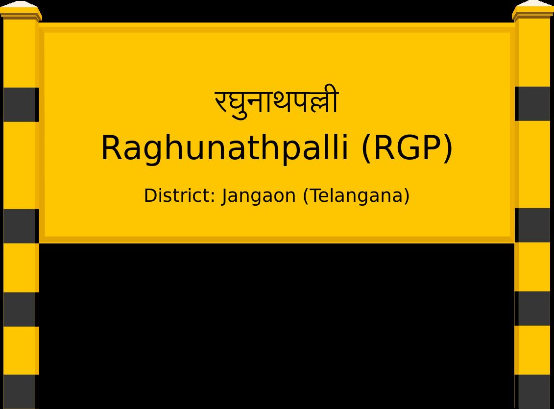 Raghunathpalli (RGP) Railway Station