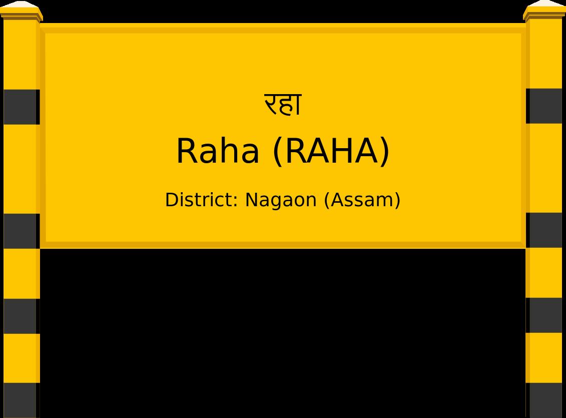 Raha (RAHA) Railway Station