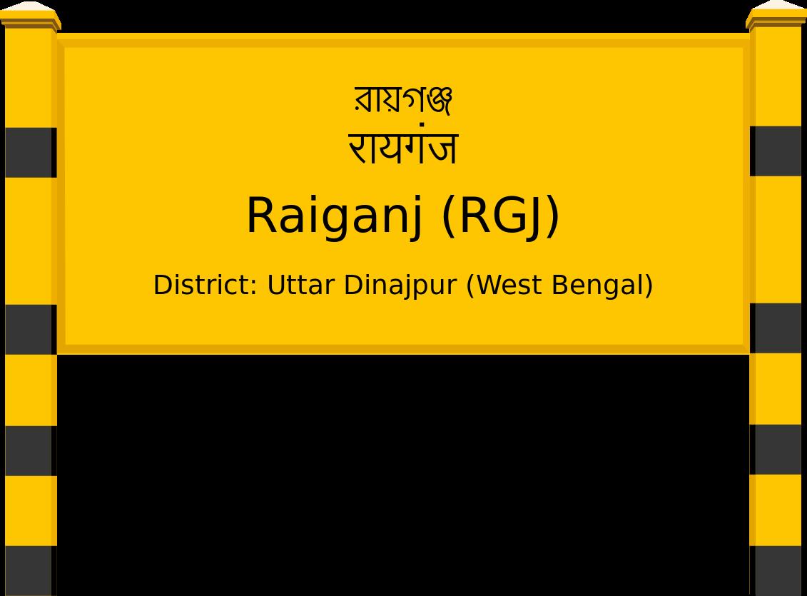 Raiganj (RGJ) Railway Station