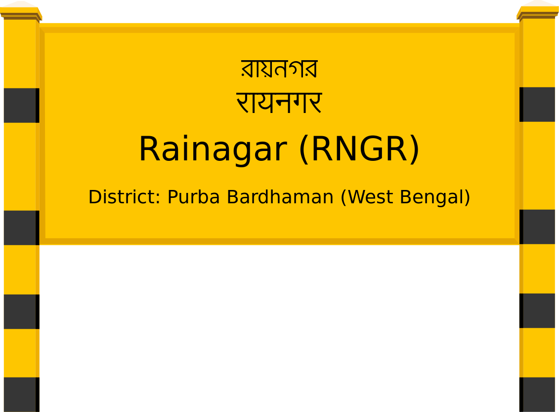 Rainagar (RNGR) Railway Station