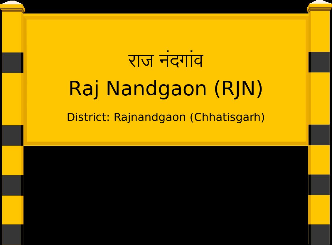 Raj Nandgaon (RJN) Railway Station