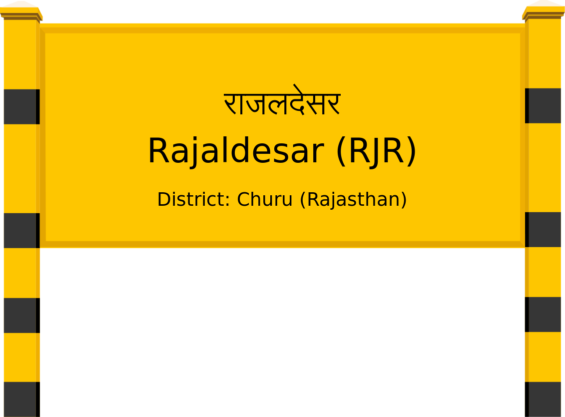 Rajaldesar (RJR) Railway Station