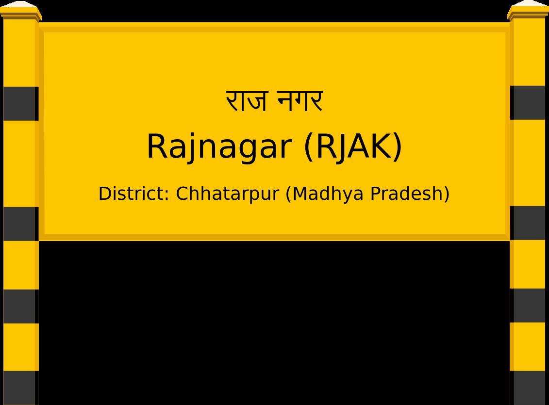 Rajnagar (RJAK) Railway Station