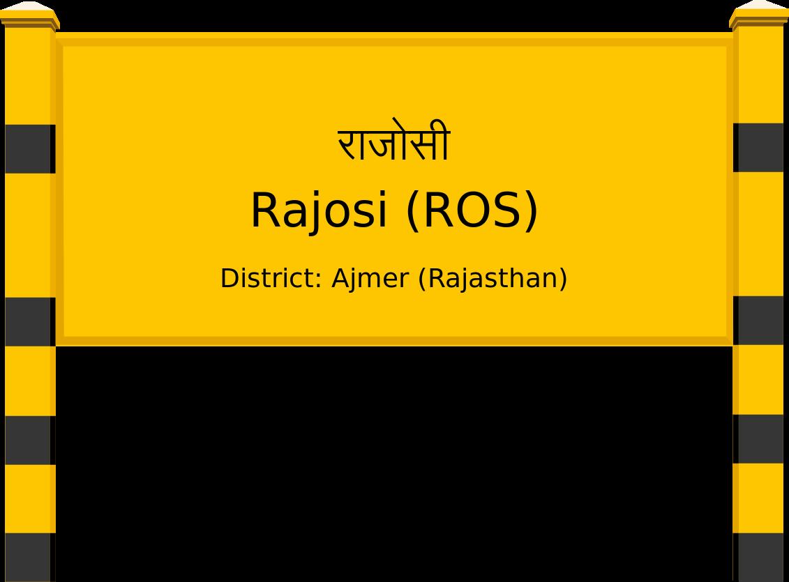 Rajosi (ROS) Railway Station