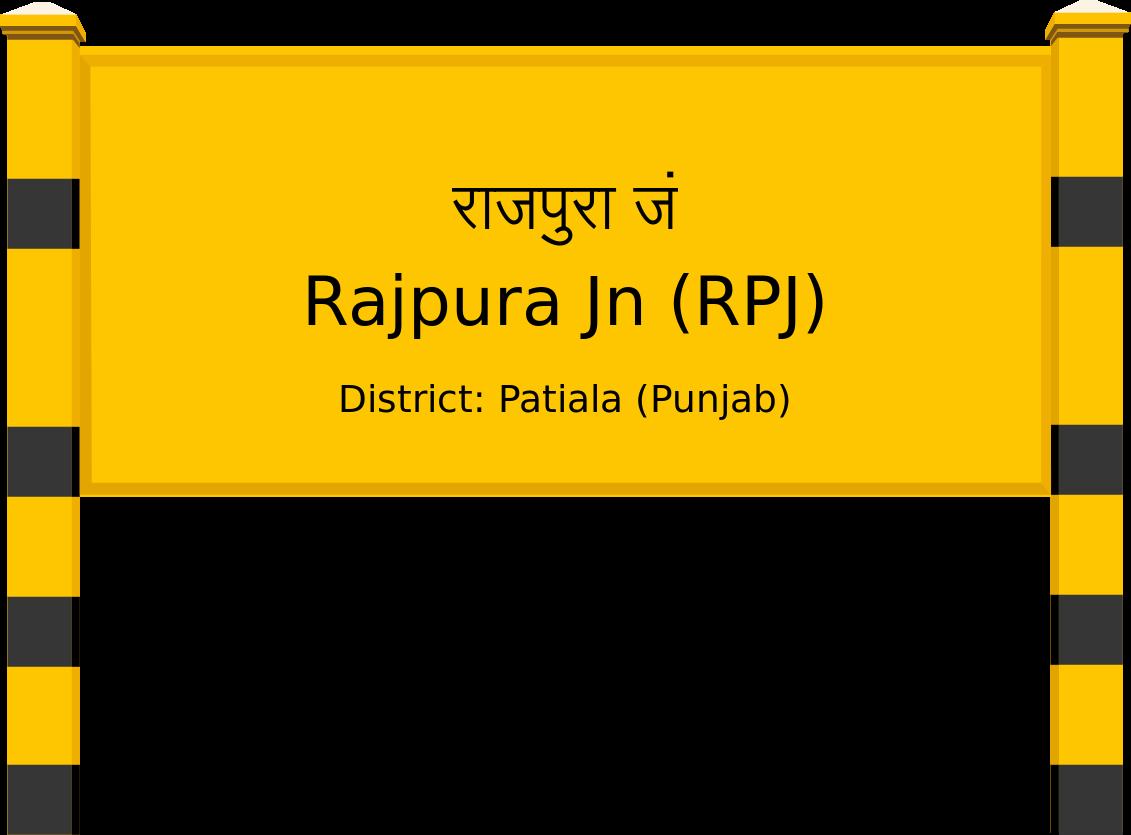 Rajpura Jn (RPJ) Railway Station