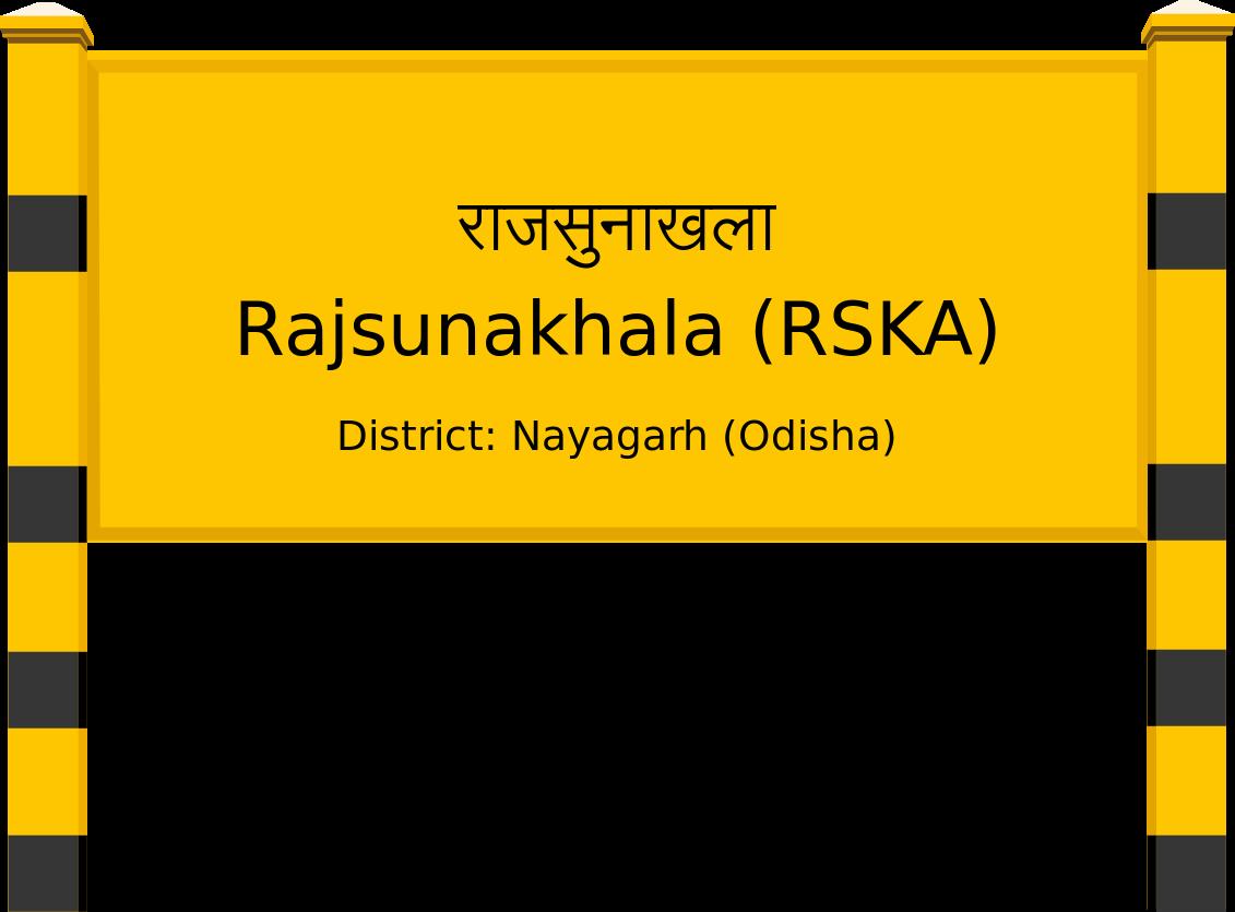Rajsunakhala (RSKA) Railway Station