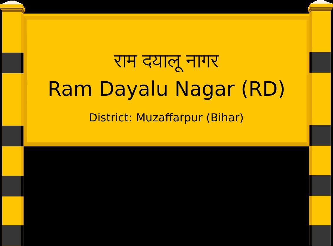 Ram Dayalu Nagar (RD) Railway Station