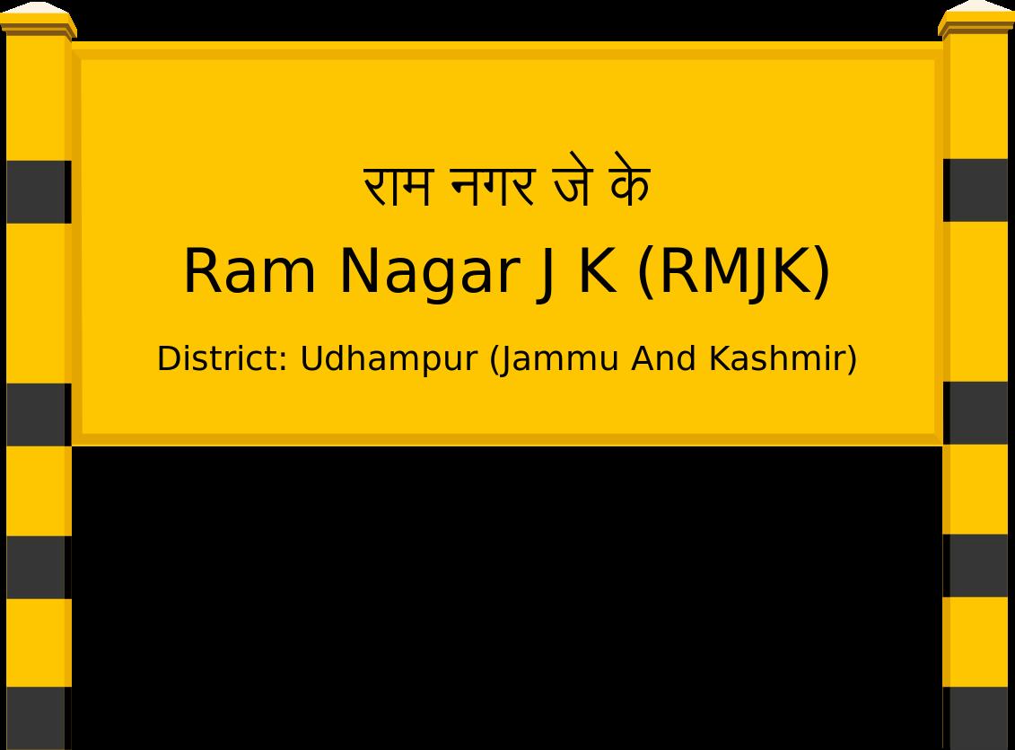 Ram Nagar J K (RMJK) Railway Station