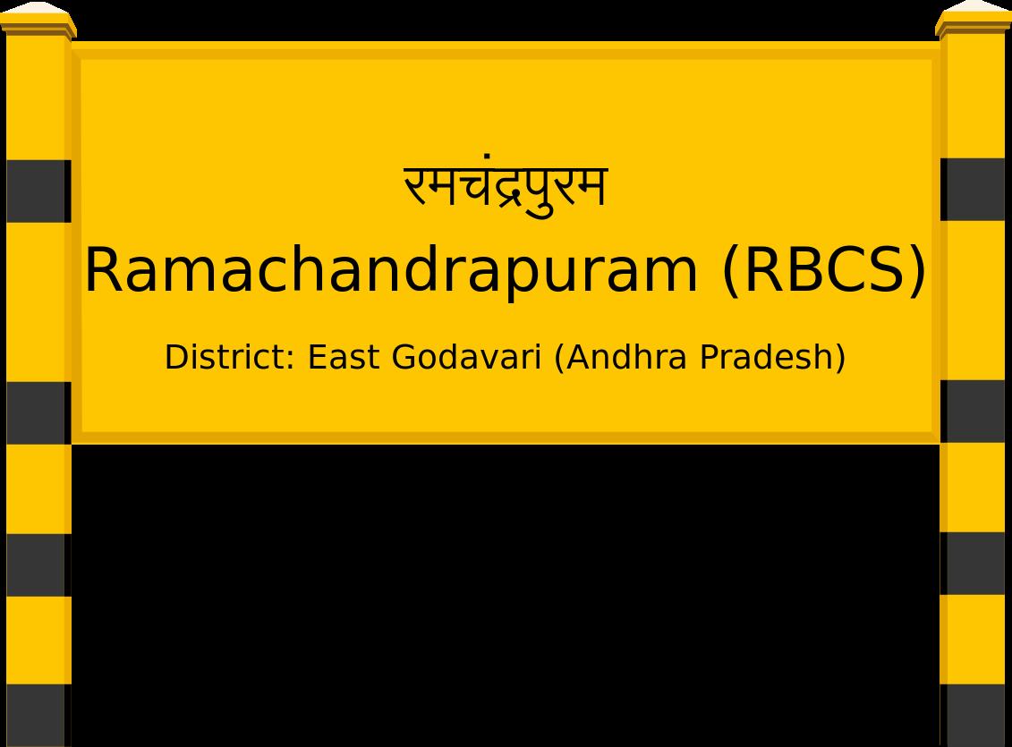 Ramachandrapuram (RBCS) Railway Station