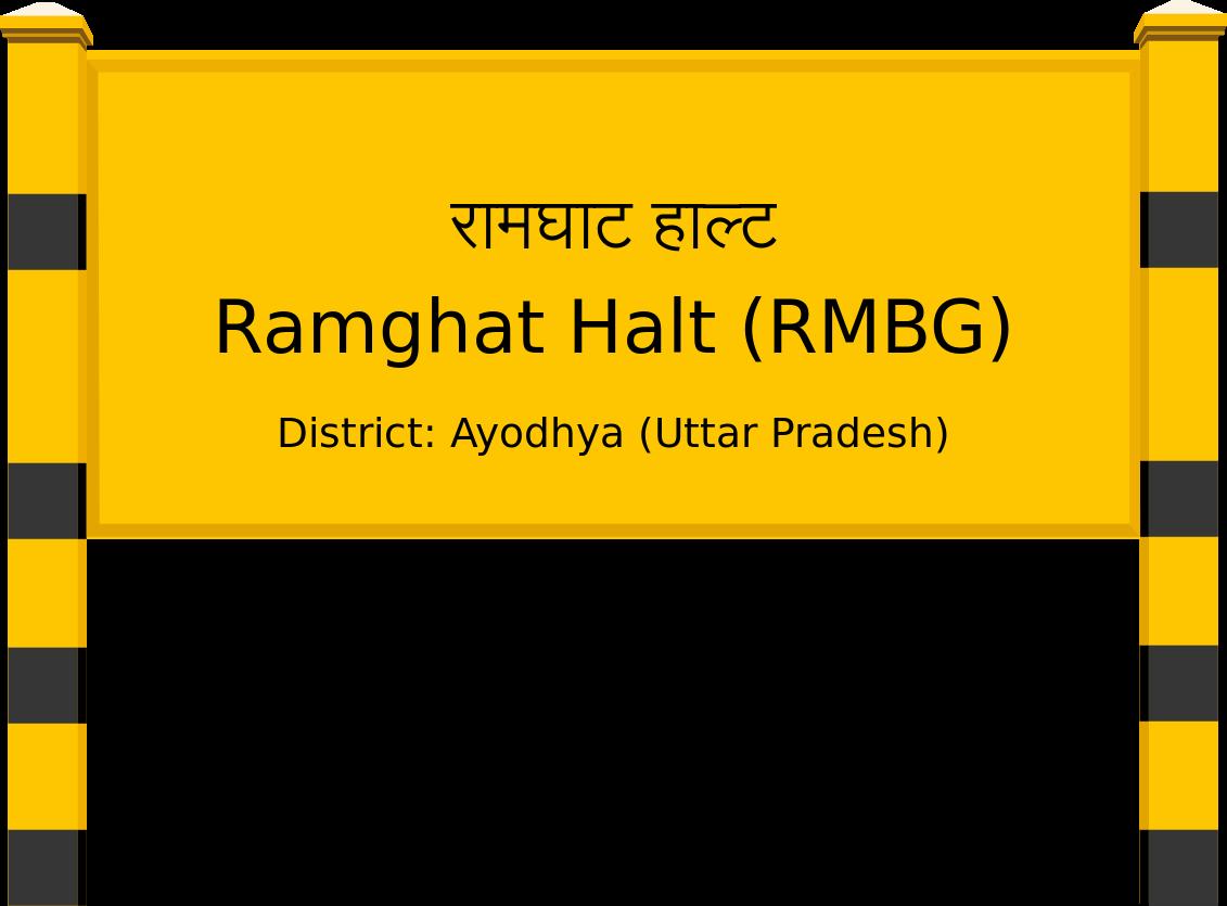 Ramghat Halt (RMBG) Railway Station