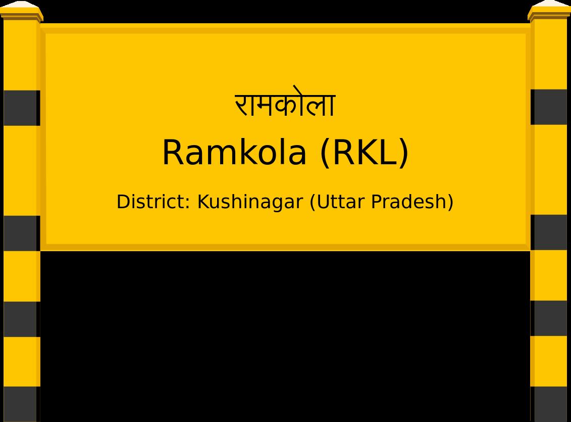 Ramkola (RKL) Railway Station