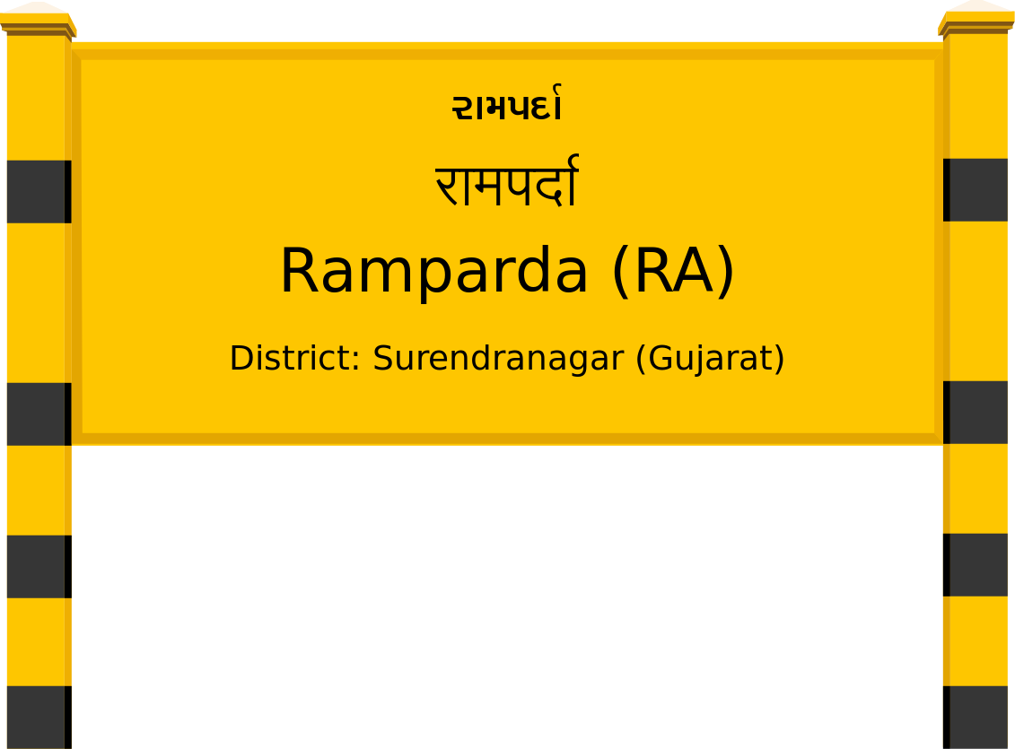 Ramparda (RA) Railway Station