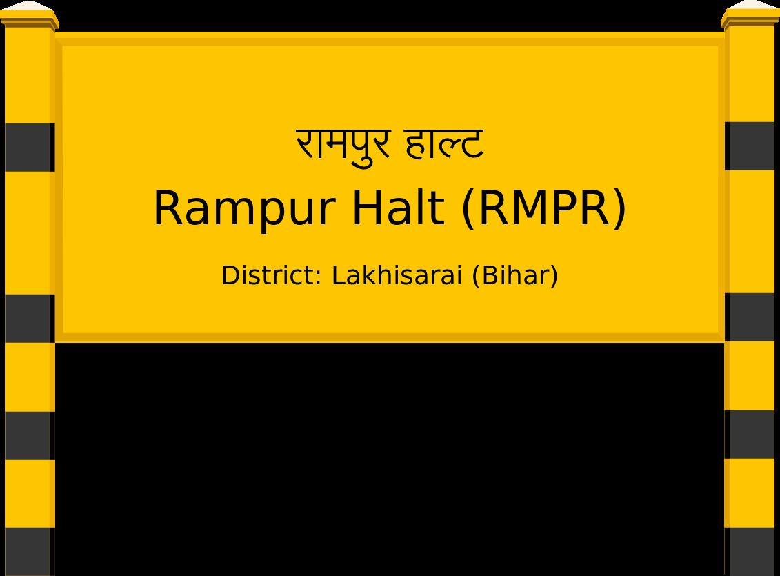 Rampur Halt (RMPR) Railway Station