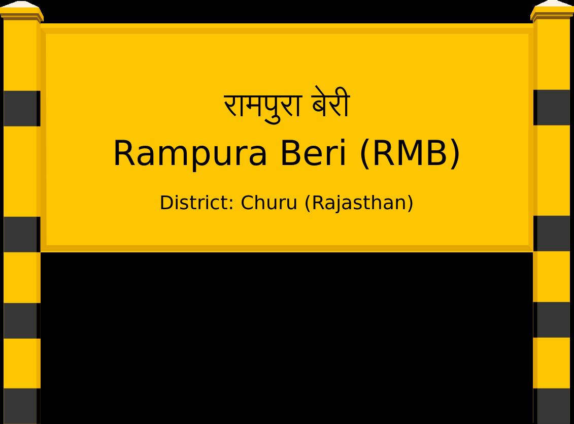 Rampura Beri (RMB) Railway Station