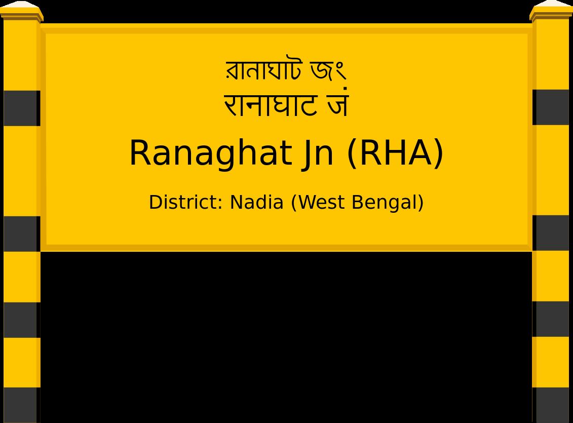 Ranaghat Jn (RHA) Railway Station