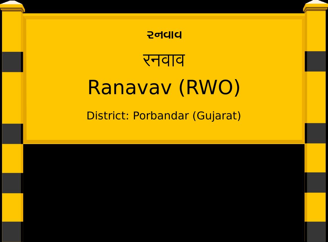 Ranavav (RWO) Railway Station