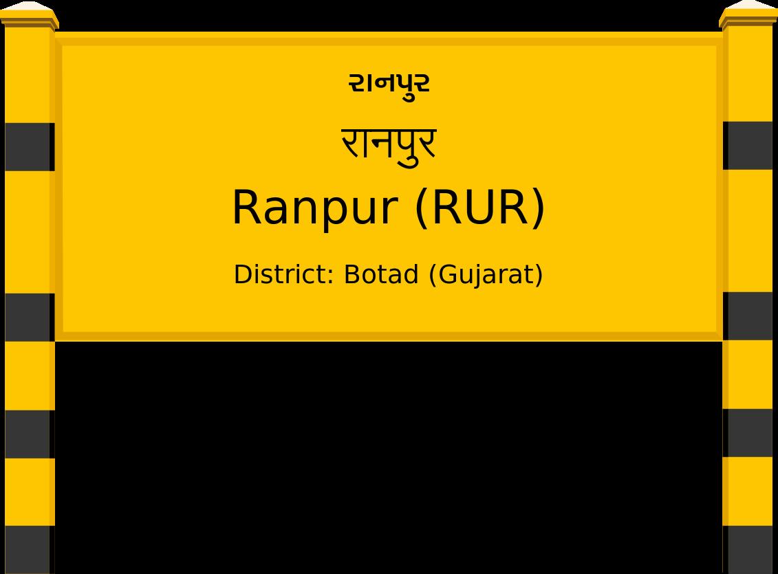 Ranpur (RUR) Railway Station