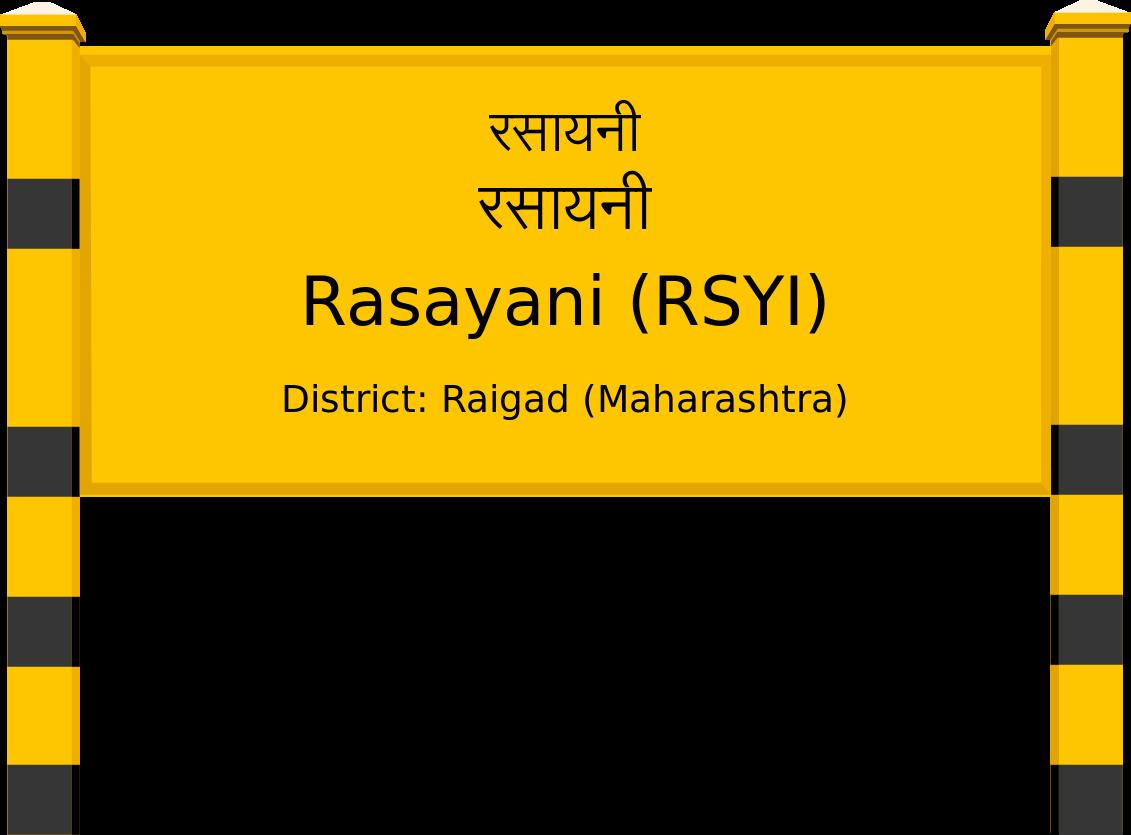 Rasayani (RSYI) Railway Station