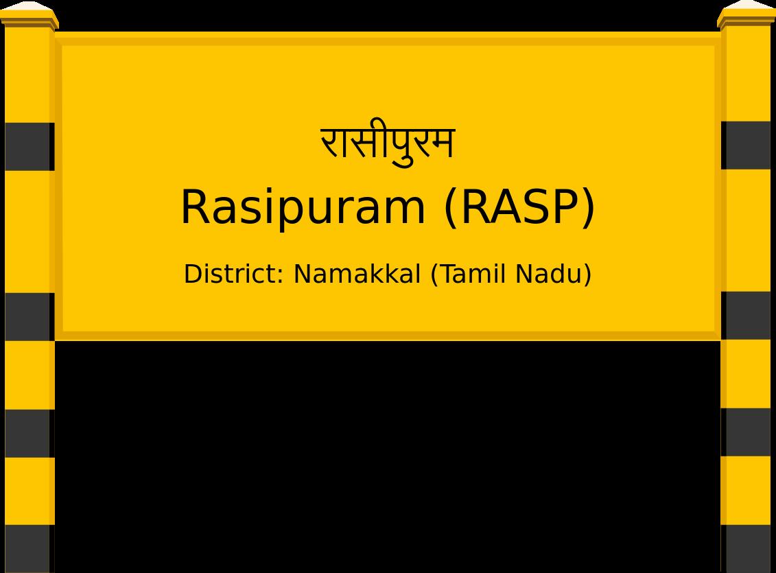 Rasipuram (RASP) Railway Station