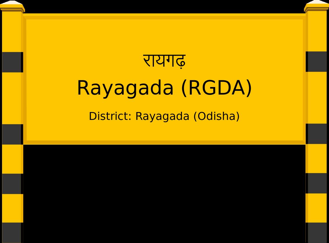 Rayagada (RGDA) Railway Station