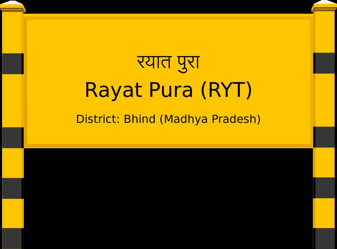 Rayat Pura (RYT) Railway Station