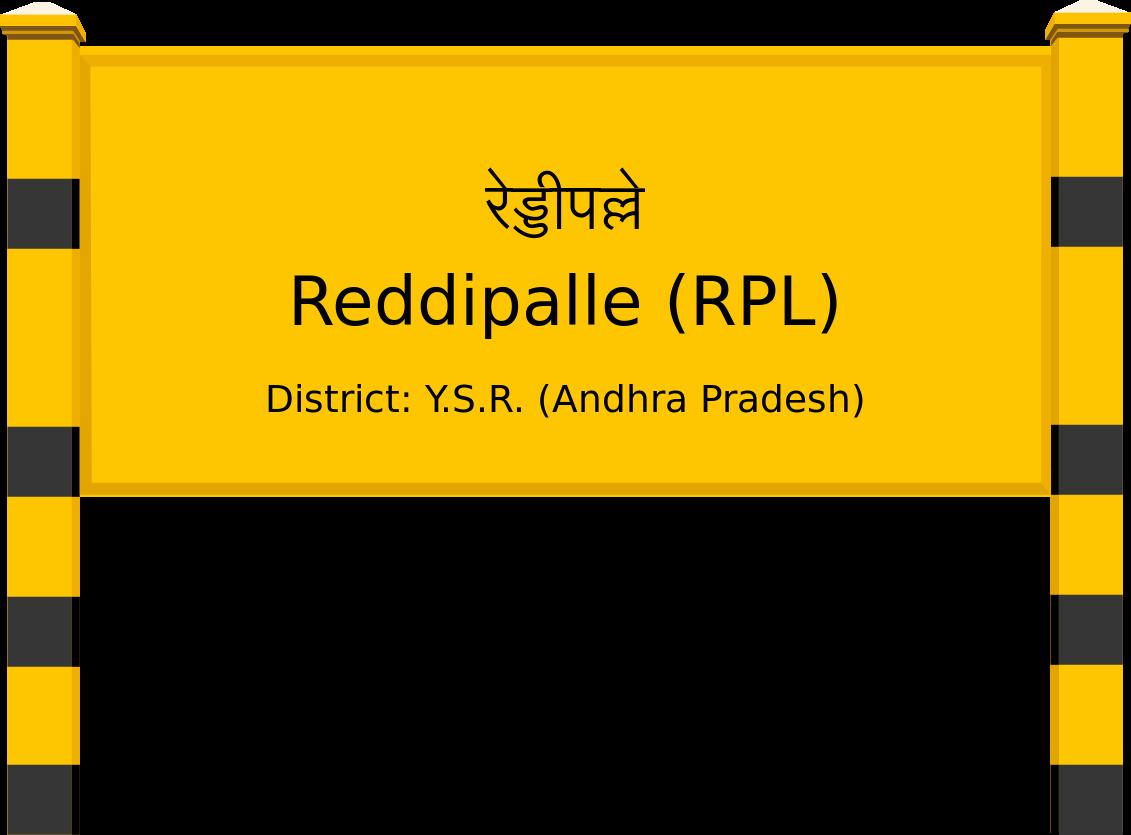 Reddipalle (RPL) Railway Station