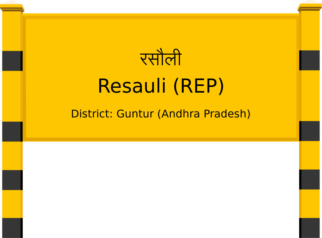 Resauli (REP) Railway Station