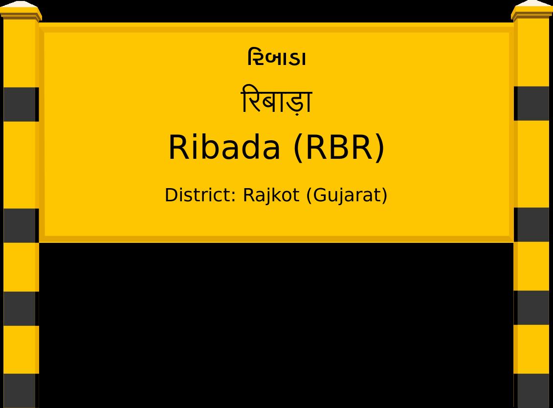 Ribada (RBR) Railway Station