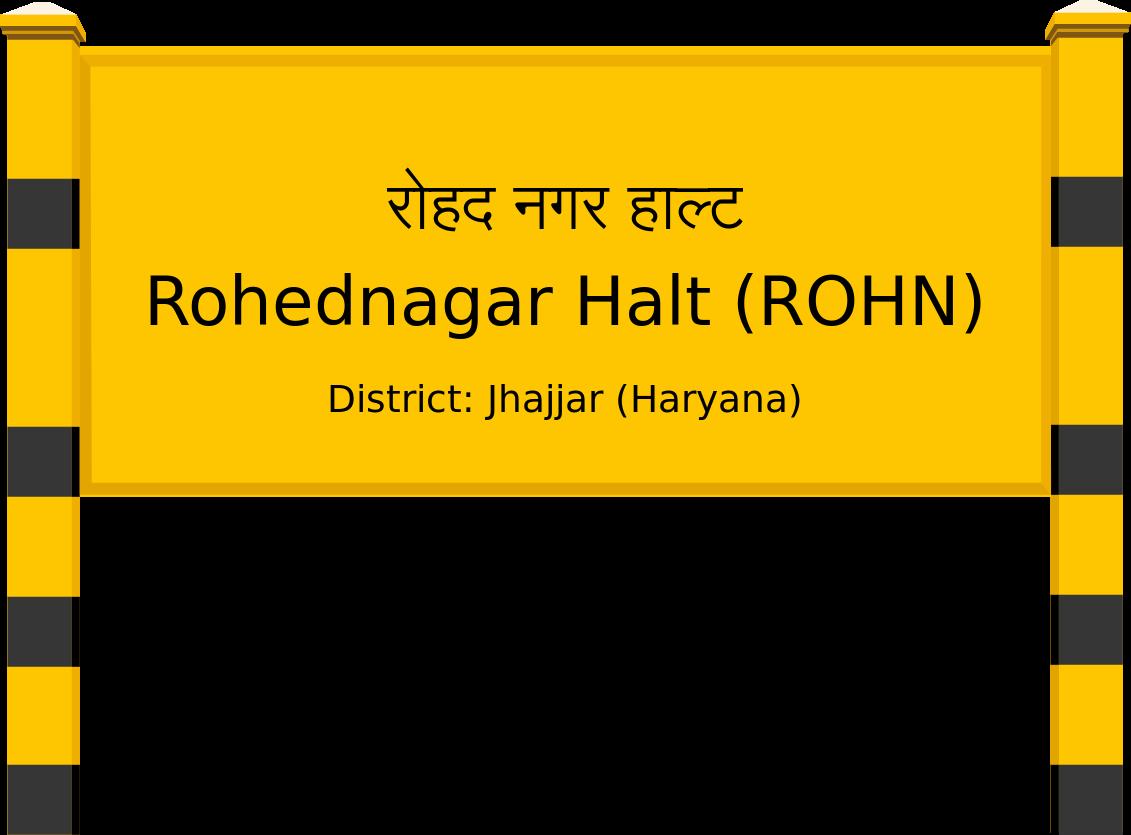 Rohednagar Halt (ROHN) Railway Station