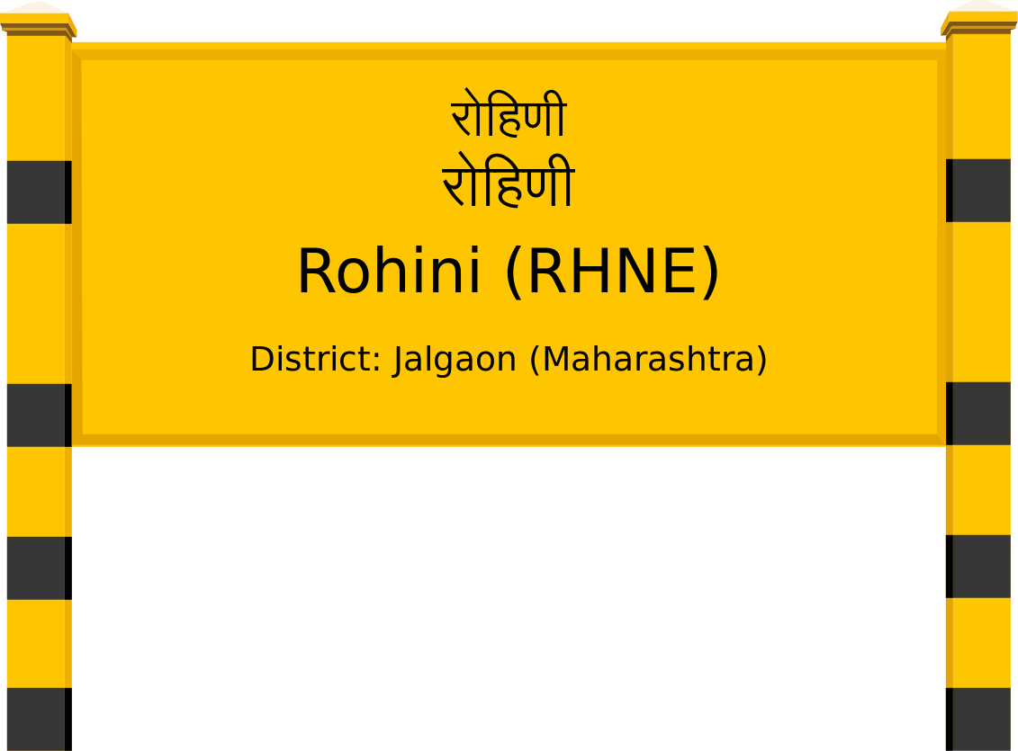 Rohini (RHNE) Railway Station