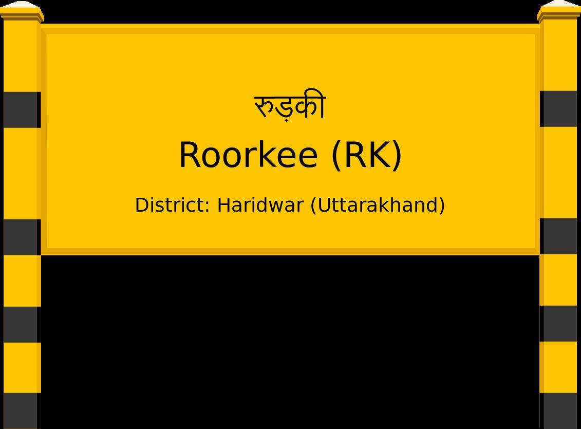 Roorkee (RK) Railway Station