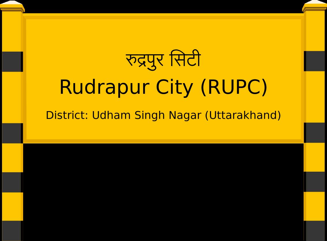 Rudrapur City (RUPC) Railway Station
